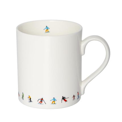 Mugs - SKI CHAIN MUG - POWDERHOUND