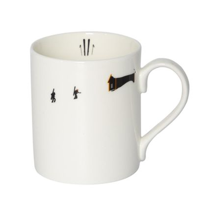 Mugs - SKI TOURING MUG - POWDERHOUND
