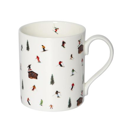 Mugs - HUT SKIING MUG - POWDERHOUND