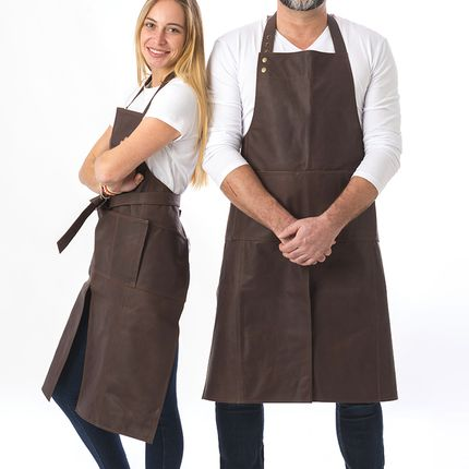 Kitchen fabrics - LEATHER APRONS - TRAVAUX EN COURS...