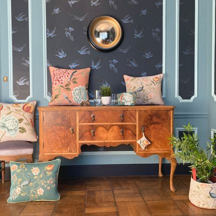 Cushions - Birds and Grenadiers Collection - ART DE LYS