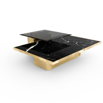 Coffee tables - Thor Center Table - LUXXU