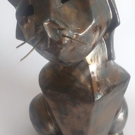 Ceramic - ENIGMA sculpture/CAT - ENIGMA