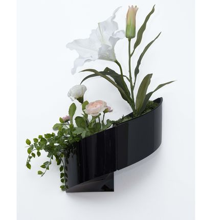 Wall decoration - Wall Flower Pot Modul'Green - GREEN'TURN