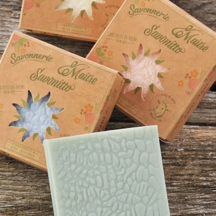 Soaps - olive coconut soap with goat's milk - MAITRE SAVONITTO FABRICANT