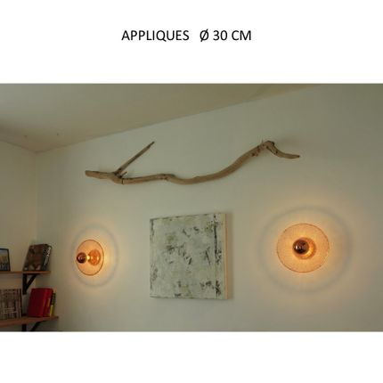 Wall lamps - WALLAMP ECLIPSE - LA LANGUOCHAT