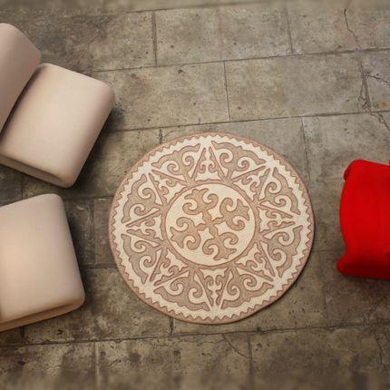 "Design - Carpet ""Asman"" made of merino wool felt - SEZIM DESIGN"