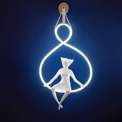 "Unique pieces - lamp ""Circus"", neon - PAPIER À ÊTRES"