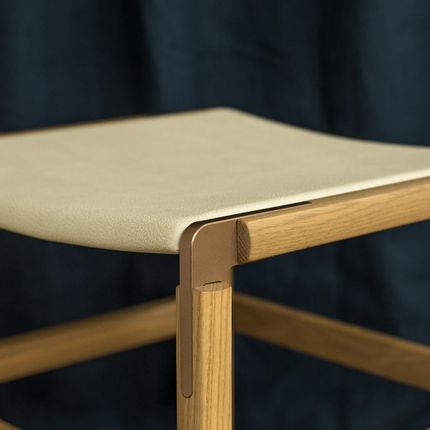 Stools - BARTLETT BACKLESS BAR STOOL - TONICIE'S