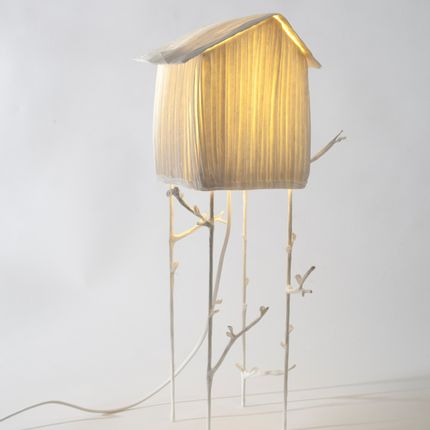Table lamps - Cabanon, lamp - PAPIER À ÊTRES
