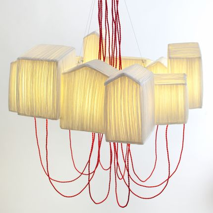 Hanging lights - Suspension Cabanons, lamp - PAPIER À ÊTRES