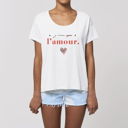 Ready-to-wear - Tshirt J'AIME L'AMOUR - WAY CUSTOM