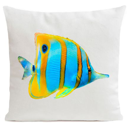 Cushions - BUTTERFLY FISH Cushion 40*40 - ARTPILO