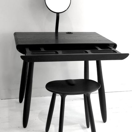 Bathroom furniture -  Stained ash Vanity table by Victoria Magniant - VICTORIA MAGNIANT POUR GALERIE V