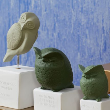 Sculptures / statuettes / miniatures - Owls - SOPHIA ENJOY THINKING