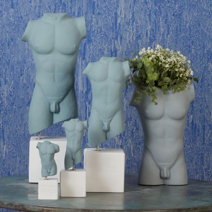 Sculptures / statuettes / miniatures - Male & Female Torso - SOPHIA ENJOY THINKING