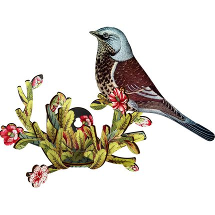 Wall decoration - Latin Lover - Decorative bird with branch - MIHO UNEXPECTED THINGS