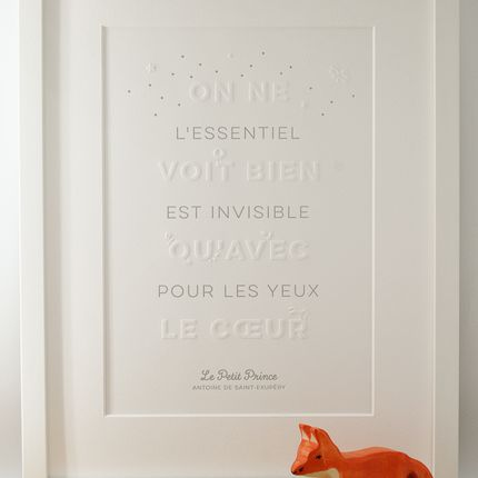 Poster - Art print The Little Prince - L'ATELIER LETTERPRESS