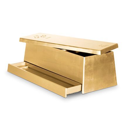 Chambres d'enfants - GOLD TOY BOX - CIRCU