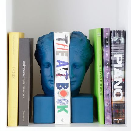 Decorative objects - Bookend Faces set of 2 - SOPHIA ENJOY THINKING