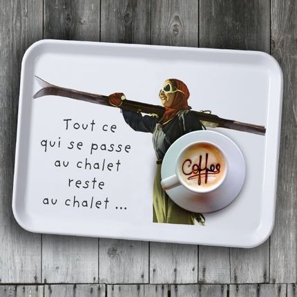 Trays - MOUNTAIN DECOR PLATEAU - PLAGE DES DEMOISELLES
