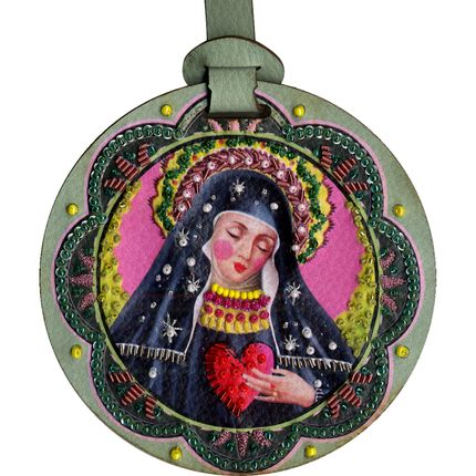 Bags / totes - Santa Gertrude - Bag Charm - SANTHONORÉ - SOMETHING OUT OF THE BLUE
