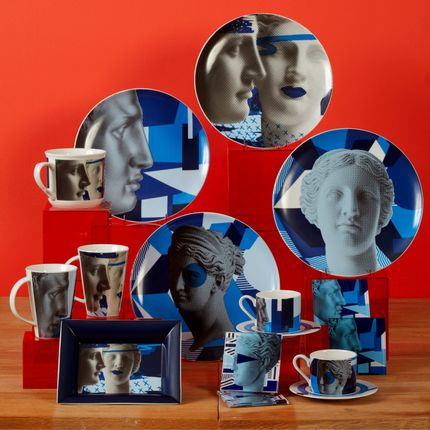 Tea / coffee accessories - Blue Collection/ Table Art - SOPHIA ENJOY THINKING