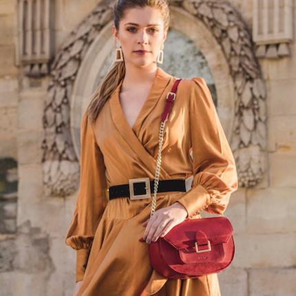 Gift - Sac, sac en cuir porté bandoulière ROMANE  - .KATE LEE