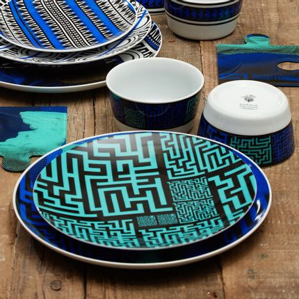 Formal plates - Maze Eternal Collection - SOPHIA ENJOY THINKING