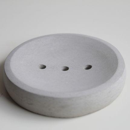 Smart objects - Porte-savon en béton gris - CHAPITRE MAISON