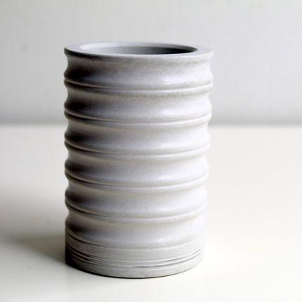 Objets de décoration - Pot ondulé - CHAPITRE MAISON