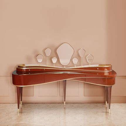 Tables - Amelie Dressing Table - MALABAR