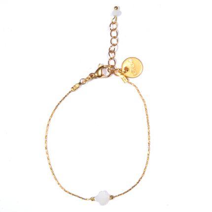 Jewelry - Bracelet 4 leaf clover - LITCHI