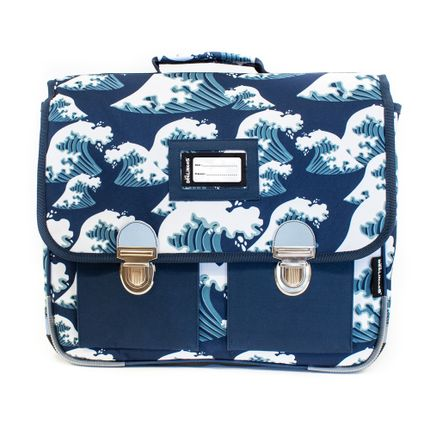 Bags / bookbags - 38cm Satchel Hippipos the Hippopotamus - LES DEGLINGOS