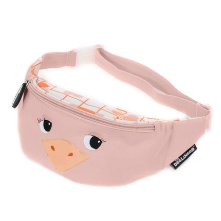 Kids accessories - Bum / Fanny Bag Pomelos the Ostrich - LES DEGLINGOS