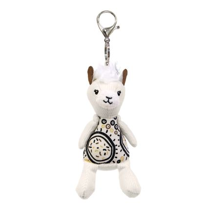 Kids accessories - Plush Key Ring Muchachos the Llama - LES DEGLINGOS
