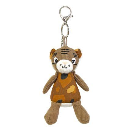 Accessoires enfants - Porte-Clés Peluche Speculos le Tigre - LES DEGLINGOS