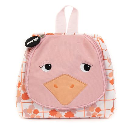 For children - Toilettry Bag Pomelos the Ostrich - LES DEGLINGOS