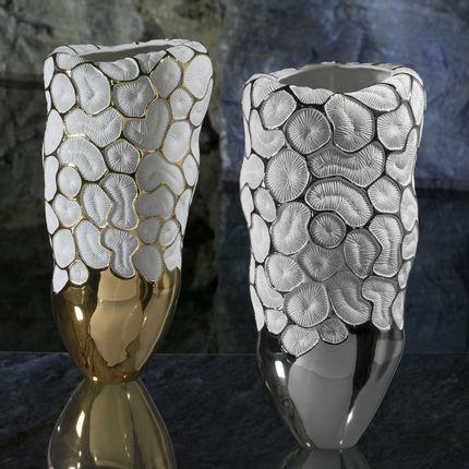Vases - POSEIDON Gold/Platinum vase - FOS