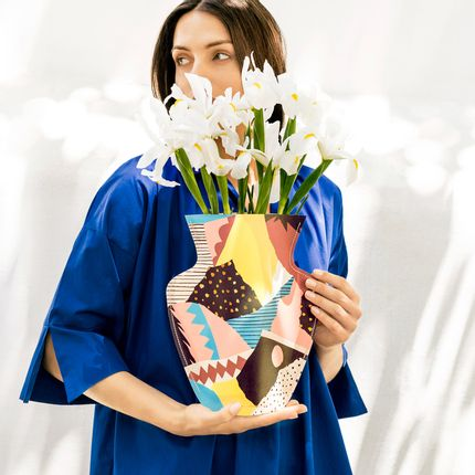 Floral decoration - Atelier Bingo Paper Vases - OCTAEVO