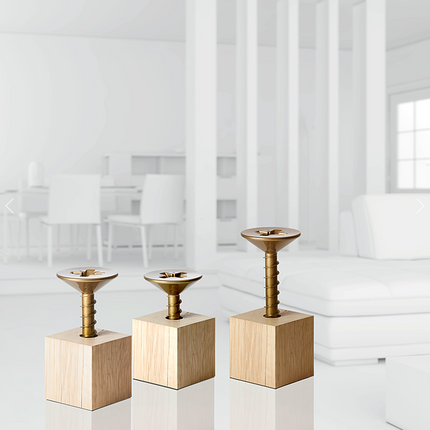 Stools - Screw stool L'ETOURDI - MADE IN WAW !