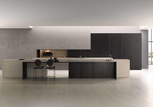 MODULNOVA WAGNER INTERIOR DESIGN ODEON - The new kitchen Blade in Pietra Piasentina of Modulnova