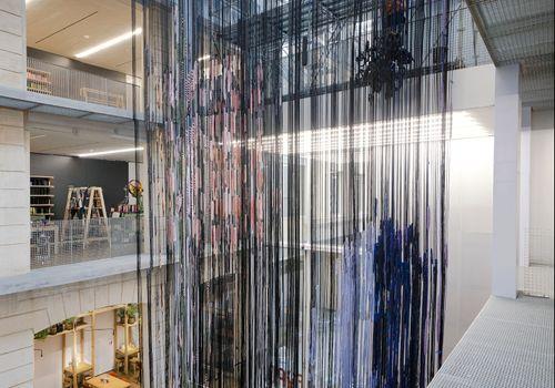 "LAFAYETTE ANTICIPATIONS - Hella Jongerius, ""Interlace, textile research"" exhibition"