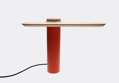DANIEL X LE 371 - Plateau table lamp red-orange