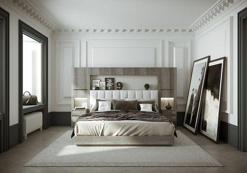 HUGUES CHEVALIER - Saint-Germain bedroom