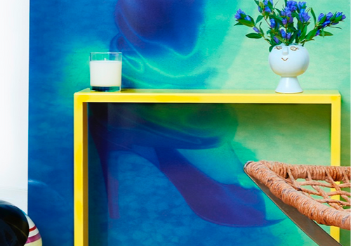 ALICE ALADJEM DESIGNS - «Table cadre et photo»