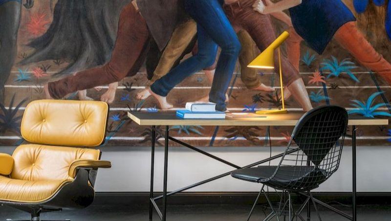 NEDGIS - AJ table lamp, yellow, Louis Poulsen