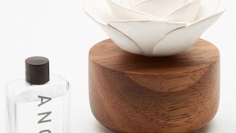 ANOQ - Diffuseur de parfum/d'huiles essentielles- Fleur aromatique Gardenia