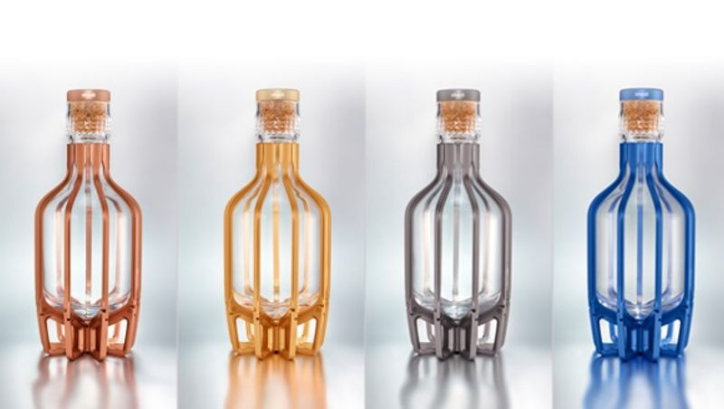 SHAZE LUXURY RETAIL PVT LTD -  THE  MAGICAL CAGE - Whisky Carafe
