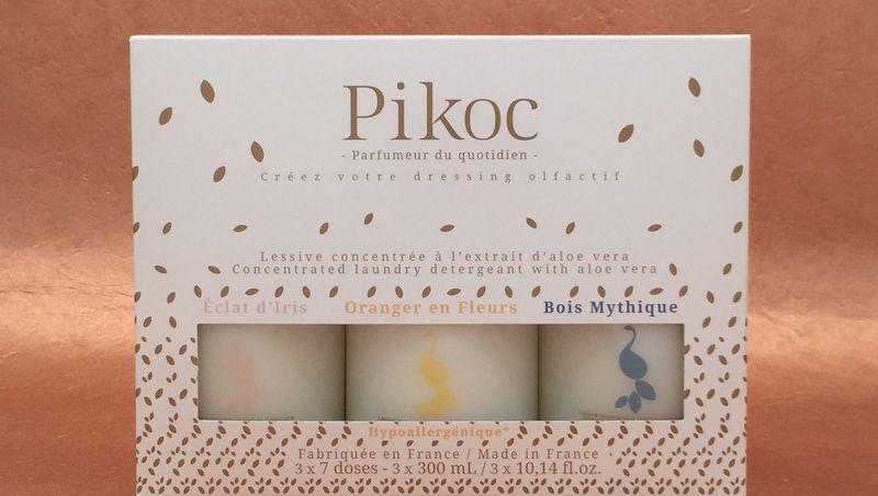 PIKOC, PARFUMEUR DU QUOTIDIEN - LESSIVES PARFUMEES - COFFRET DECOUVERTE